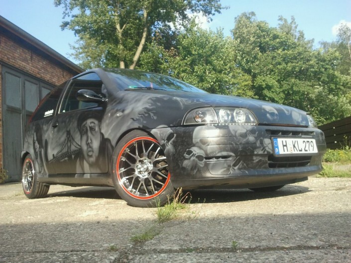 airbrush custom car hannover