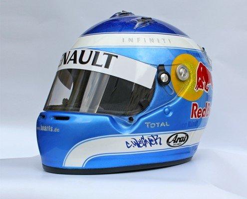 redbull custom helmet