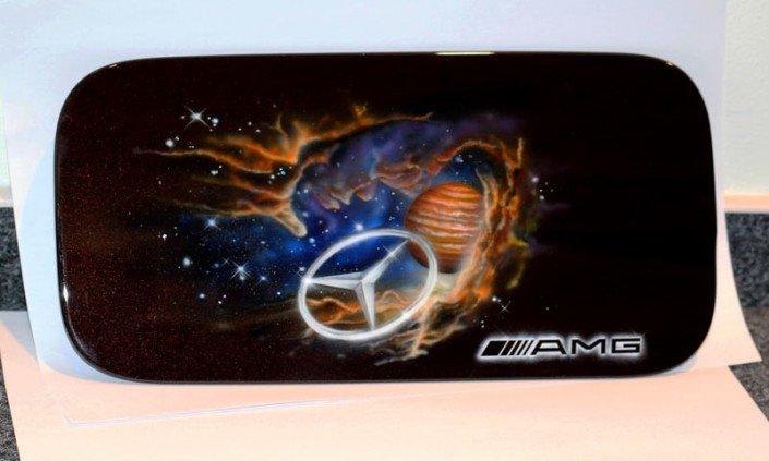 Mercedes Benz Amg >> KOarts: Individuelle Objektgestaltung mit Airbrush und Graffiti